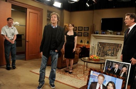 Photo Flash: Cheyenne Jackson, Paul McCartney Among Guest Stars on 30 ROCK's Live Episode