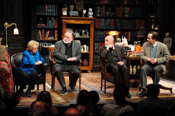 Dr. Ruth, Mark St. Germain, George Morfogen, Jim Stanek