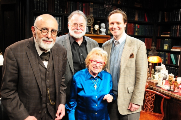 George Morfogen, Mark St. Germain, Jim Stanek, Dr. Ruth