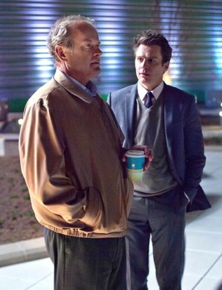 Kelsey Grammer & Jonathan Groff at First Look - Jonathan Groff in Starz Series BOSS