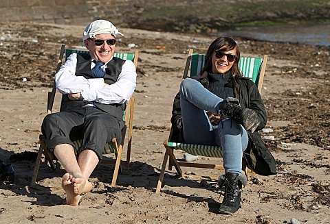 Craig Ferguson & Rashida Jones