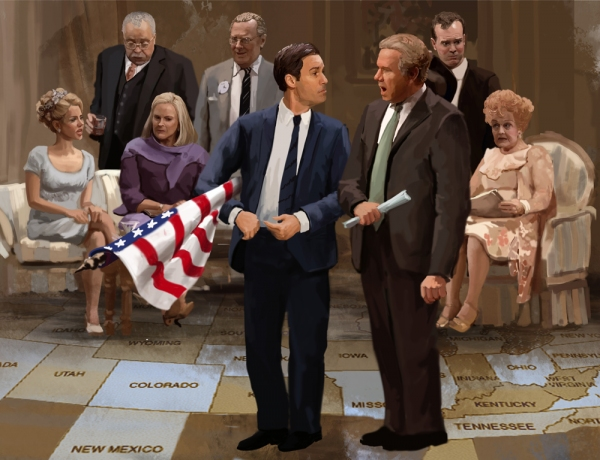 BWW Exclusive STAGE ART- THE BEST MAN!