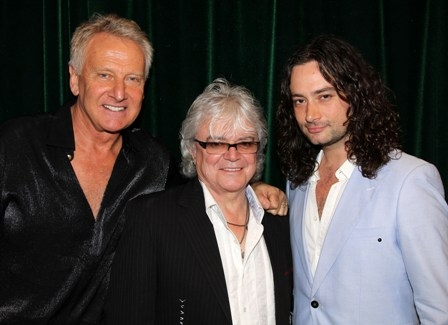 Graham Russell and Russell Hitchcock of Air Supply, and Constantine Maroulis