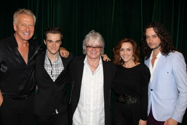 Graham Russell, Justin Sargent, Russell Hitchcock, Andrea McArdle and Constantine Maroulis at Inside LOST IN LOVE Reading with Constantine Maroulis, Andrea McArdle, and More!
