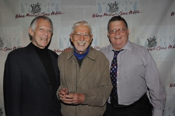 Michael Montel, Tom Jones and James Morgan