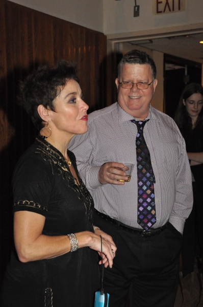 Christine Andreas and James Morgan at Christine Andreas and More in Musicals In Mufti's COLETTE COLLAGE