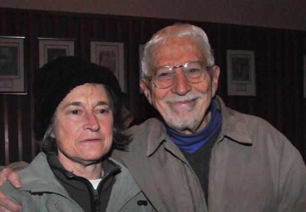 Janet Watson and Tom Jones