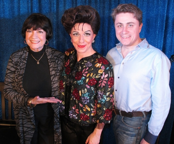 Photo Flash: Jo Anne Worley Visits Peter Mac's JUDY GARLAND AT CARNEGIE HALL