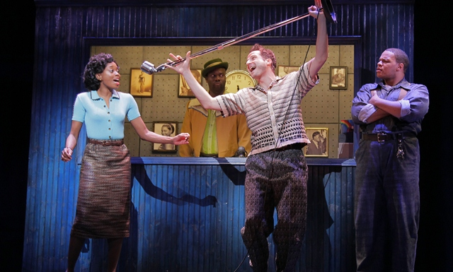 BWW Reviews: MEMPHIS Brings the Birth of Rock 'N' Roll to Des Moines