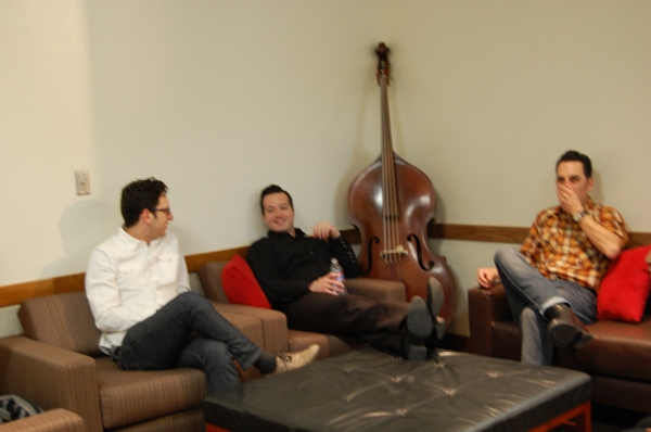 Dan Mills, Robert Shaw, Steve Benoit