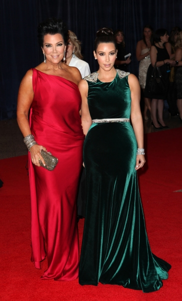 Kris Jenner & Kim Kardashian at Viola Davis, Daniel Radcliffe, et al. at 98th Annual White House Correspondents' Association Dinner