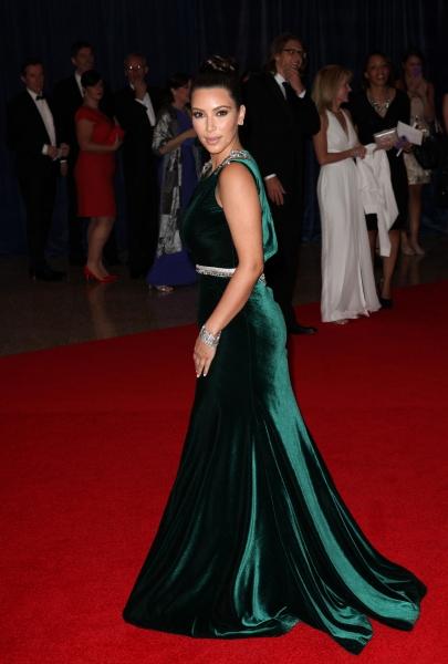 Kim Kardashian at Viola Davis, Daniel Radcliffe, et al. at 98th Annual White House Correspondents' Association Dinner