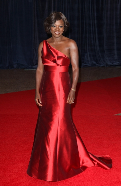 Viola Davis  at Viola Davis, Daniel Radcliffe, et al. at 98th Annual White House Correspondents' Association Dinner