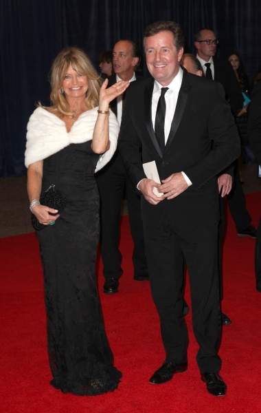 Goldie Hawn & Piers Morgan