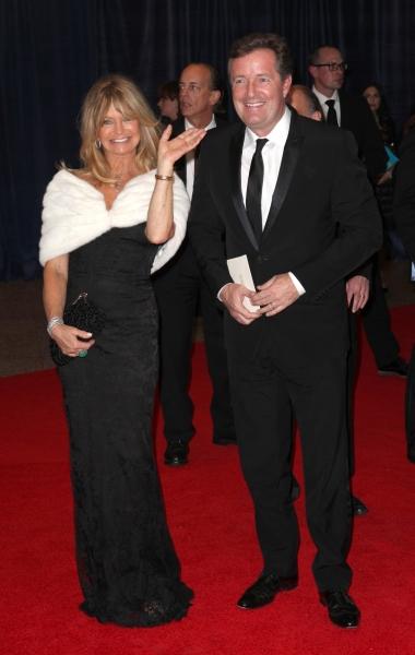 Goldie Hawn & Piers Morgan
