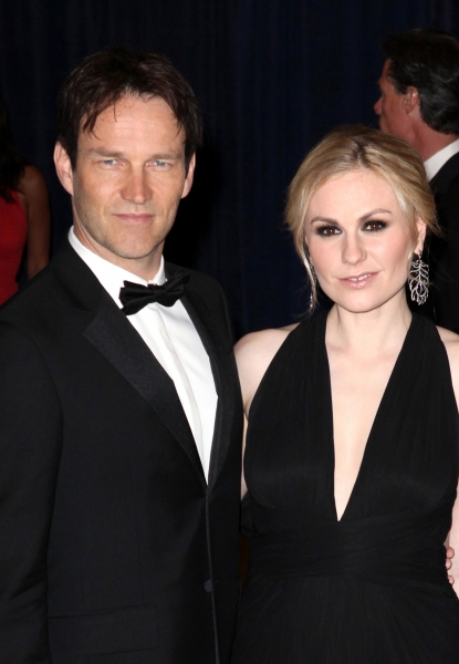 Anna Paquin & Stephen Moyer at Viola Davis, Daniel Radcliffe, et al. at 98th Annual White House Correspondents' Association Dinner
