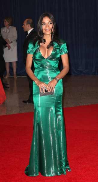 Rosario Dawson  at Viola Davis, Daniel Radcliffe, et al. at 98th Annual White House Correspondents' Association Dinner