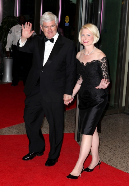 Newt Gingrich and wife Callista