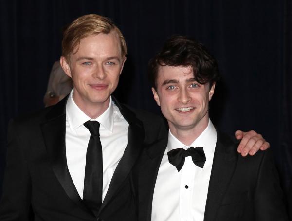 Dane Dehaan & Daniel Radcliffe at Viola Davis, Daniel Radcliffe, et al. at 98th Annual White House Correspondents' Association Dinner