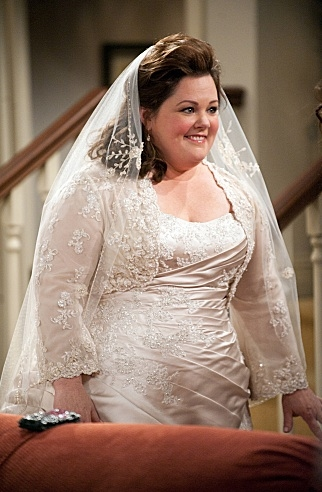 Melissa McCarthy at First Look - 'The Wedding' on CBS's MIKE & MOLLY