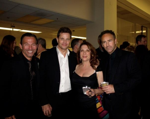 Cortes Alexander, Brian Lane Green, Lindy Robbins and Gene Reed Photo