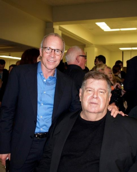 Bill Hutton and David Galligan Photo