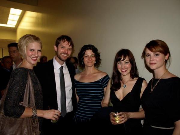Jen Malenke, Brandon Wardell, Suzanne Petrela and Sarah Glendening