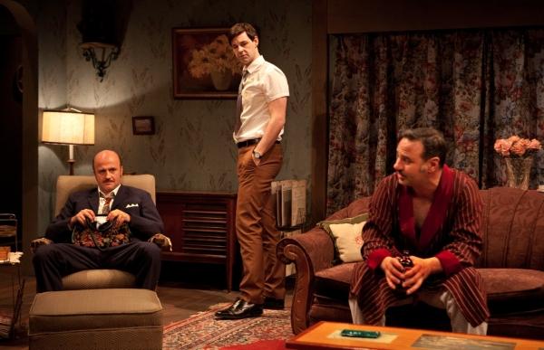 Cliff Saunders, Matthew Edison and Tony Nappo