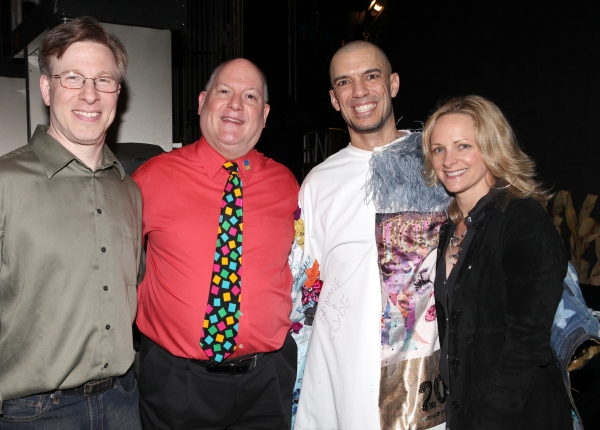 Ira Mont, David Westphal, Paige Price & Dennis Stowe at Inside the LEAP OF FAITH Gypsy Robe Ceremony!