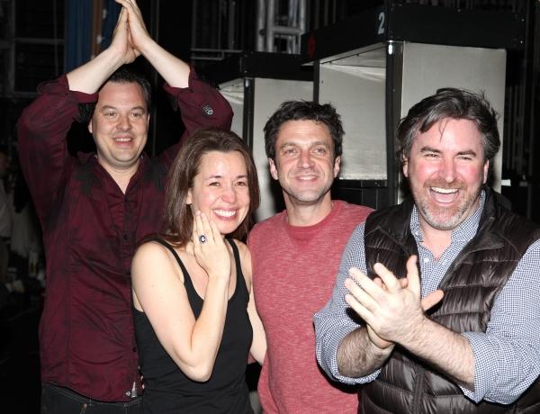 Tad Wilson, Michelle Duffy, Raul Esparza & Danny Stiles  Photo