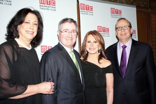 Lynne Meadow, Glenn Britt, Marlo Thomas, Barry Grove