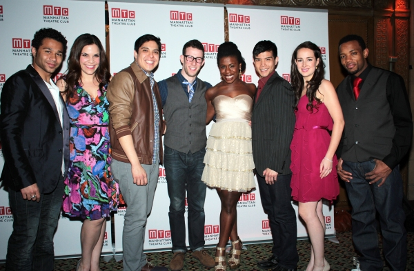 Corbin Bleu, Lindsay Mendez, George Salazar, Nick Blaemire, Uzo Aduba, Telly Leung, Hannah Elless, Wallace Smith at Nina Arianda, Jeremy Jordan, GODSPELL and More at Manhattan Theatre Club's Annual Gala!