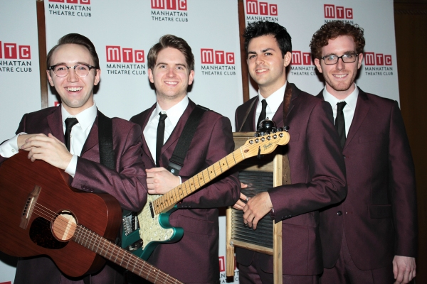 Zach Jones, Austin Moorhead, Jacob Cohen, Matt Cusack at Nina Arianda, Jeremy Jordan, GODSPELL and More at Manhattan Theatre Club's Annual Gala!
