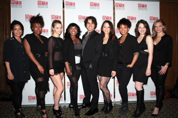 Laurin Padolina, Katrina Reynolds, Krista Leis, Karen Burthwright, Josh Young, Melissa O'Neil, Mary Antonini, Kaylee Harwood, Jacqueline Burtney at Nina Arianda, Jeremy Jordan, GODSPELL and More at Manhattan Theatre Club's Annual Gala!