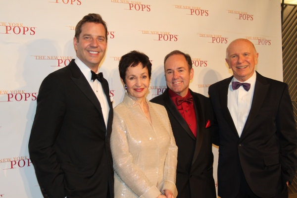 Steven Reineke, Lynn Ahrens, Steven Flaherty and Terrence McNally