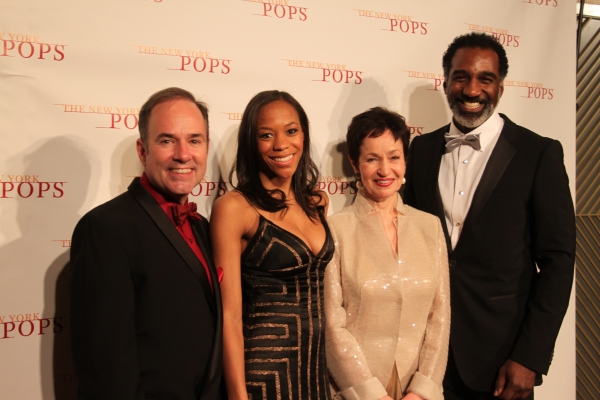 Stephen Flaherty, Nikki M. James, Lynn Ahrens and Norm Lewis
