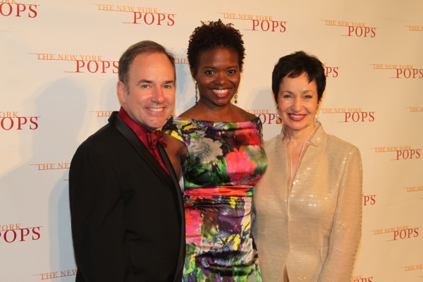 Stephen Flaherty, LaChanze and Lynn Ahrens