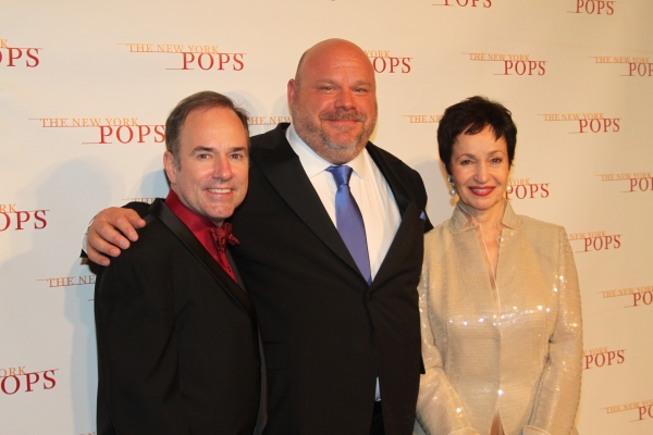 Stephen Flaherty, Kevin Chamberlin and Lynn Ahrens