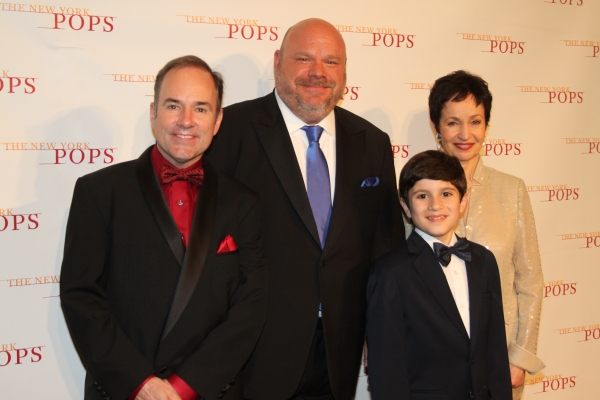 Stephen Flaherty, Kevin Chamberlin, Lewis Grosso and Lynn Ahrens