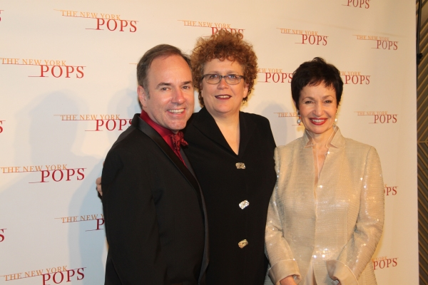 Stephen Flaherty, Judith Clurman and Lynn Ahrens