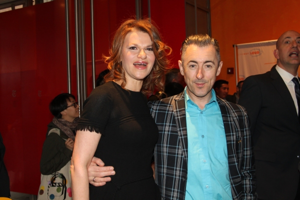 Sandra Bernhard and Alan Cumming at Live Out Loud 11th Annual Gala