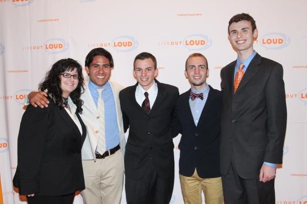 Cassidy Madison, Evan Martinez, Brian Williams, Joshua Blecher-Cohen  and John Otto,  Photo