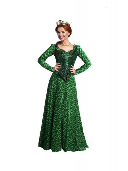 Photo Flash: First Look at Carley Stenson in SHREK!