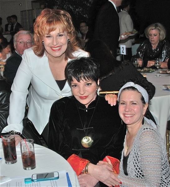 Joy Behar, Liza Mennlli and Susie Essman
