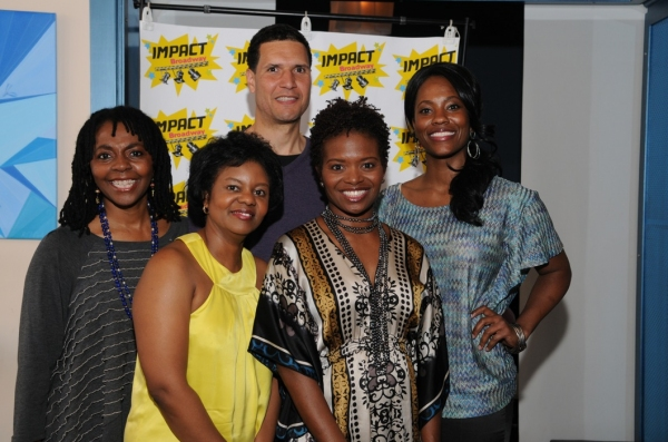 Photo Flash: Will Power, LaChanze et al. at Last Night's Impact Broadway Fundraiser, 4/30