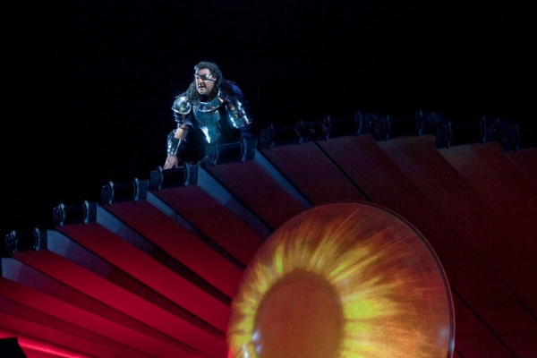 Bryn Terfel as Wotan in Wagner's 'Die Walkure'