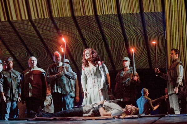 Photo Flash: First Look at Wagner's RING CYCLE, to Screen in THE MET: LIVE IN HD, Beg. 5/7