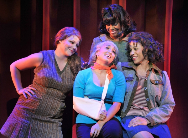 Colleen Grate, Ashley Blanchet (Audrey), Eboni Fondren, Jennie Greenberry