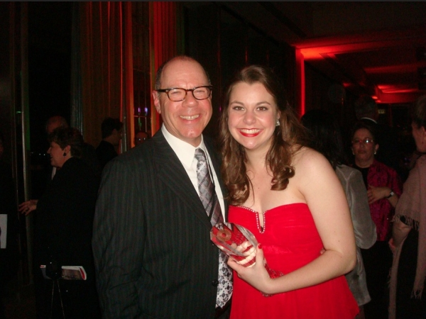 Elizabeth Romero and Director David Schwartz Photo