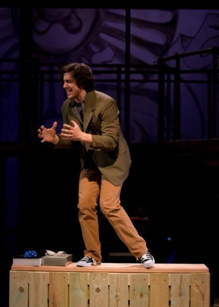 Adrian Aguilar at Porchlight Presents Jonathan Larson's tick, tick...BOOM!